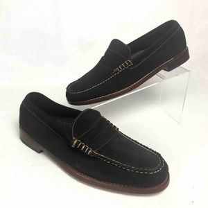 Bass Weejuns Mens Gorham Loafers Brown Moc Toe Low
